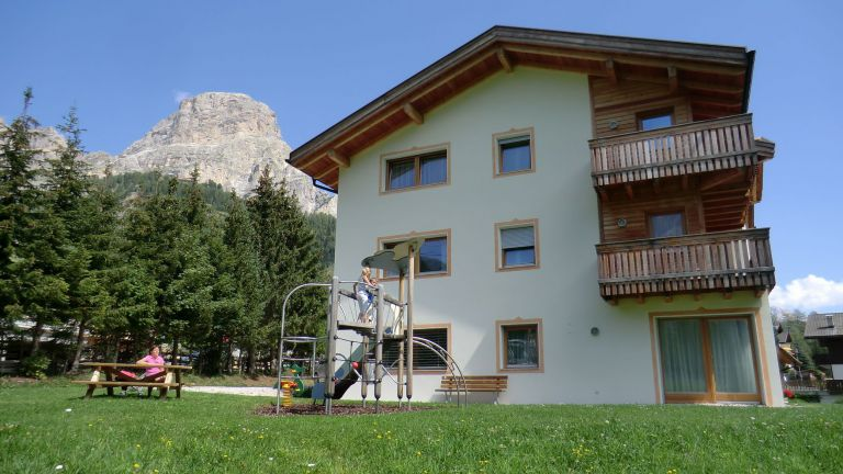 Paltinares: your apartment in Colfosco – Alta Badia logo